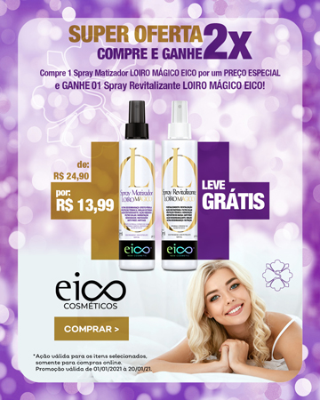 Eico Spray Matizador Ganhe Spray Revitalizante - MBL