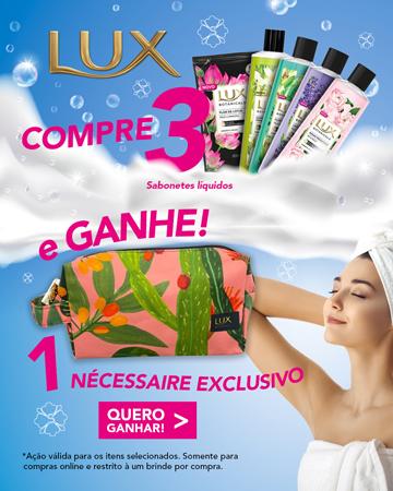 Sabonete Líquido Lux Ganhe Necessaire - MBL