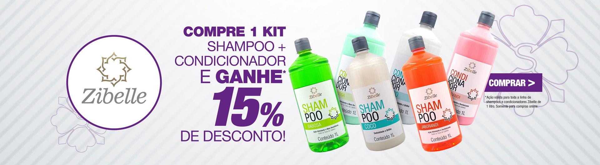 Zibelle Shampoo + Cond 15% Off