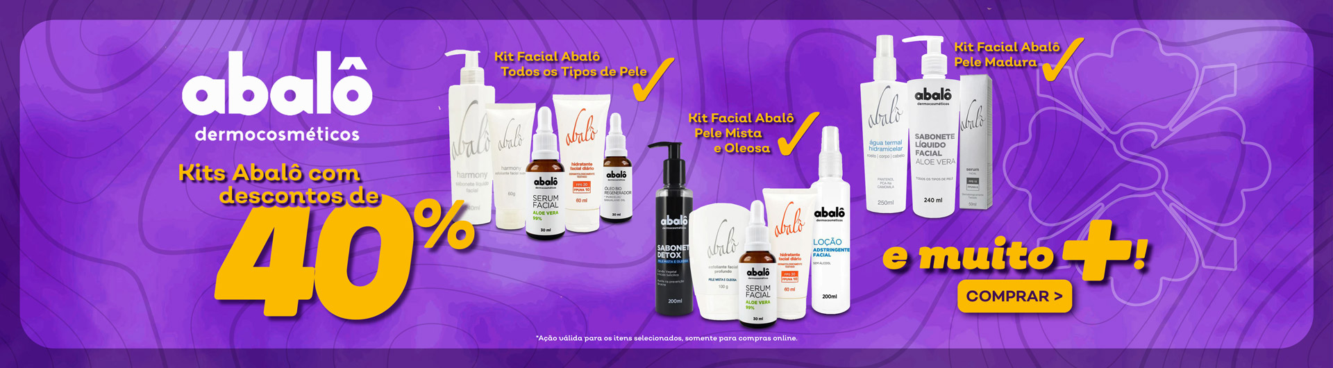 Abalo 40% Off Kit Facial