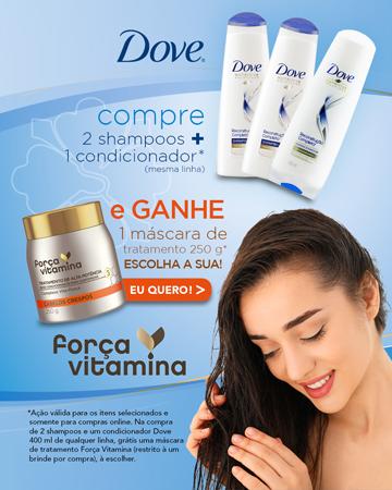Dove - Ganhe mascara de tratamento - MBL