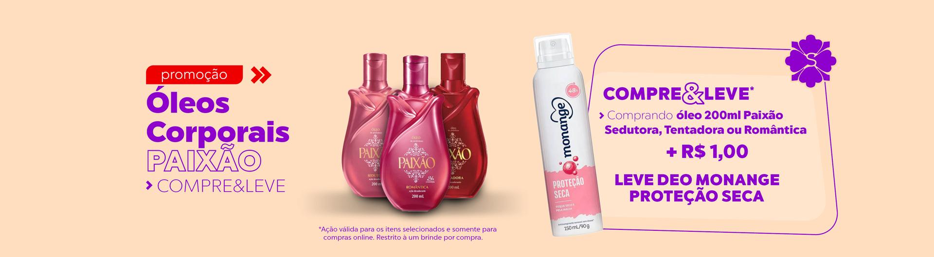 Paixão +1real desodorante